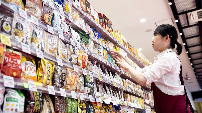 Thực phẩm trong siêu thị tại Nhật Bản. Ảnh: Getty Images.