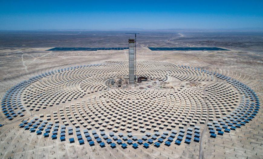 Nhà máy nhiệt điện Mặt trời Cerro Dominador. Ảnh: Tech Times