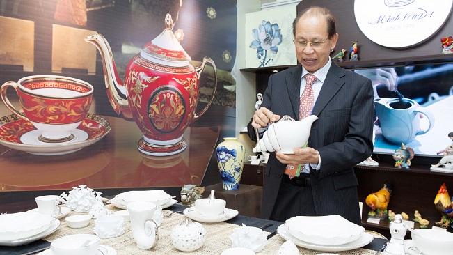 Rất ít doanh nghiệp Việt Nam tự tạo được vị thế như Minh Long và Mỹ Lan. Ảnh: PV
