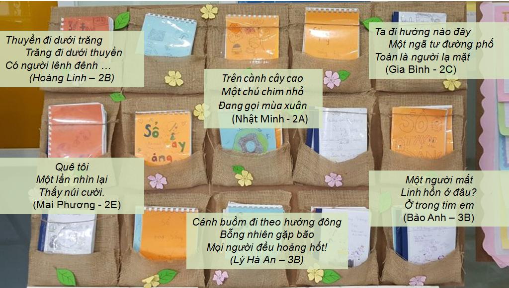 Những bài thơ Haiku của học sinh nhóm Cánh Buồm