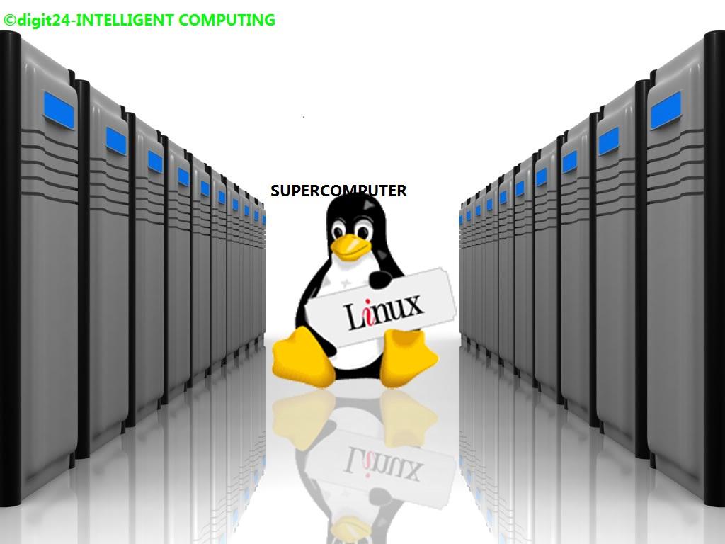Linux đang được cài đặt trên toàn bộ 500 siêu máy tính mạnh nhất thế giới. Ảnh: Linux Journal.