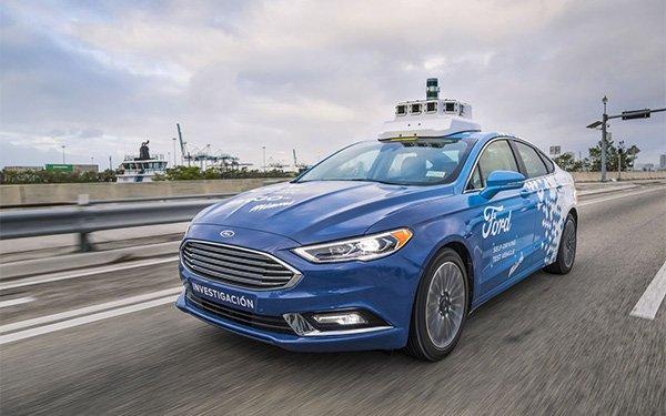 Ford thử nghiệm xe tự lái tại Washington DC. Ảnh: Ford.
