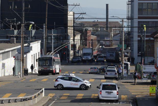 Cruise Automation của GM đang thử nghiệm xe tự lái tại đường phố công cộng ở Mỹ. Ảnh: GM.