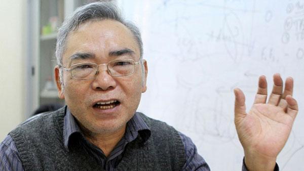 GS. TS Phan Văn Tân, Khoa Khí tượng Thủy văn và Hải dương học, trường Đại học Khoa học Tự nhiên (ĐHQGHN). Nguồn: Báo Giao thông