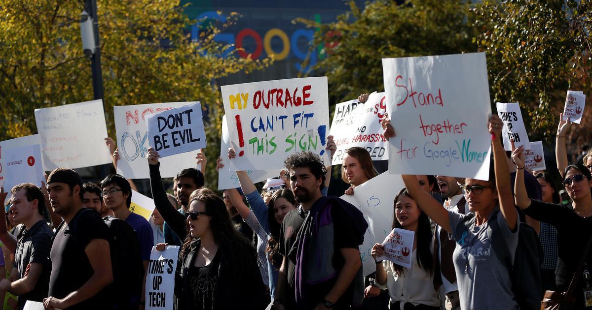 nhân viên của google lên tiếng về các lo ngại quấy rối tình dục tại một cơ sở của ông ty ở Mountain View, California | Ảnh: Reuters