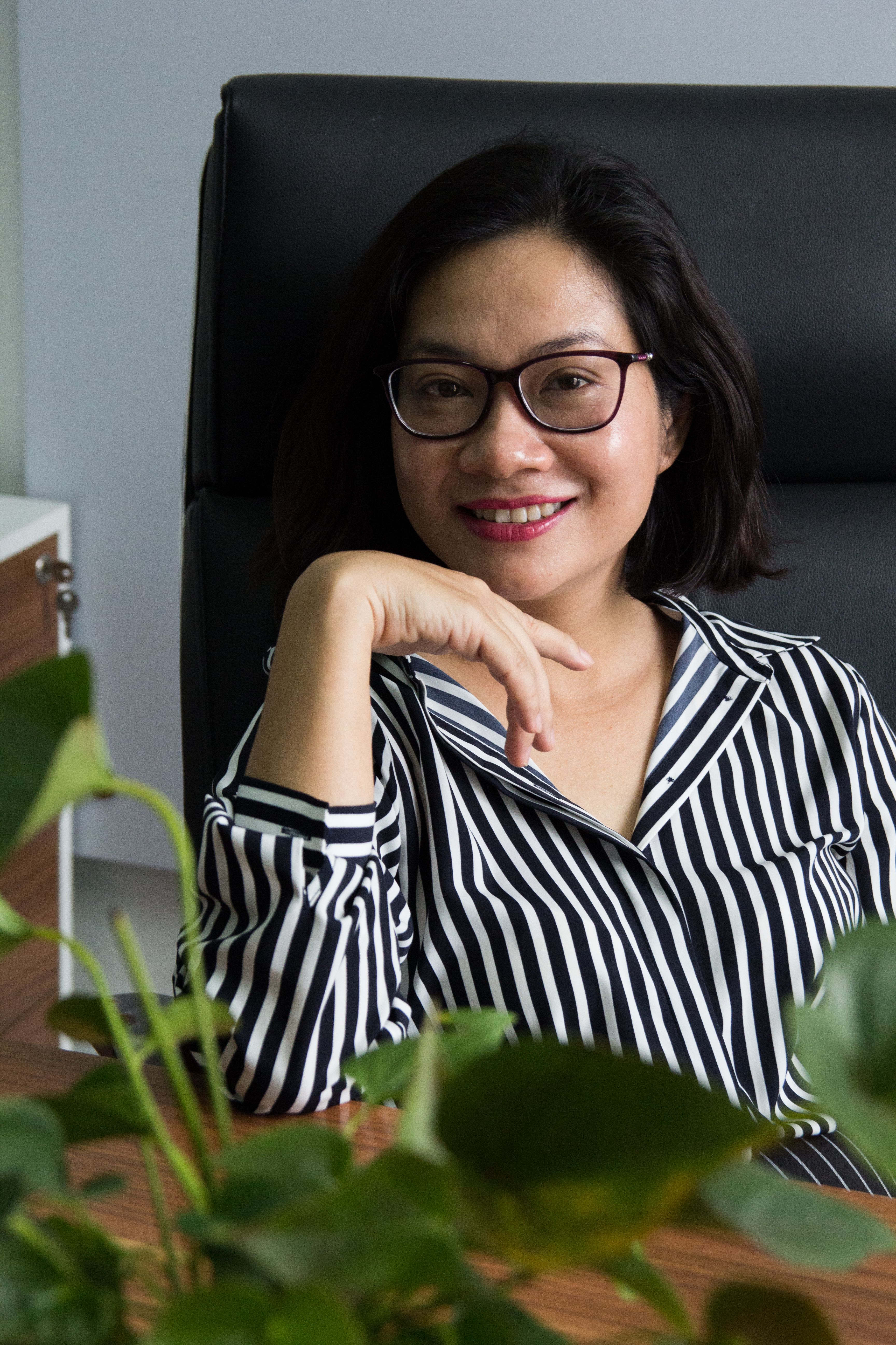Luật sư Đinh Thị Quỳnh Như, Giám đốc công ty luật MTV An Luật. Ảnh: KH&PT