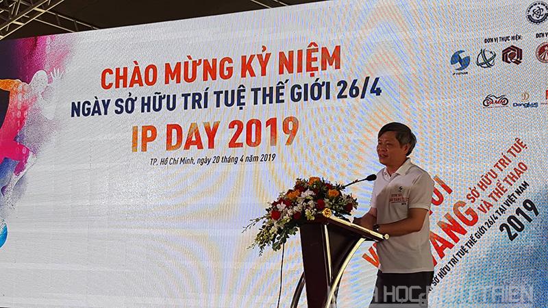 Thứ trưởng Bộ KH&CN Phạm Công Tạc phát biểu khai mạc sự kiện