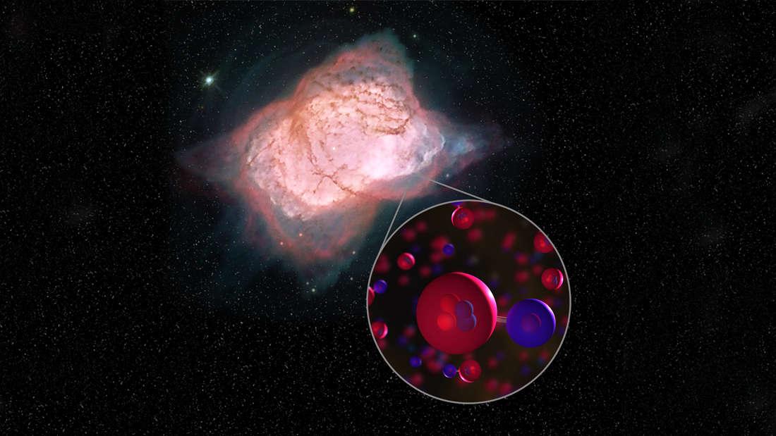 HeH+ được phát triện trong tinh vân NGC 7027. Ảnh: NASA