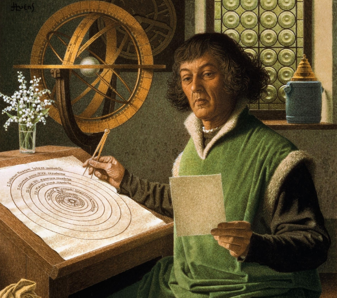 Nicolaus Copernicus. Ảnh: Alamy