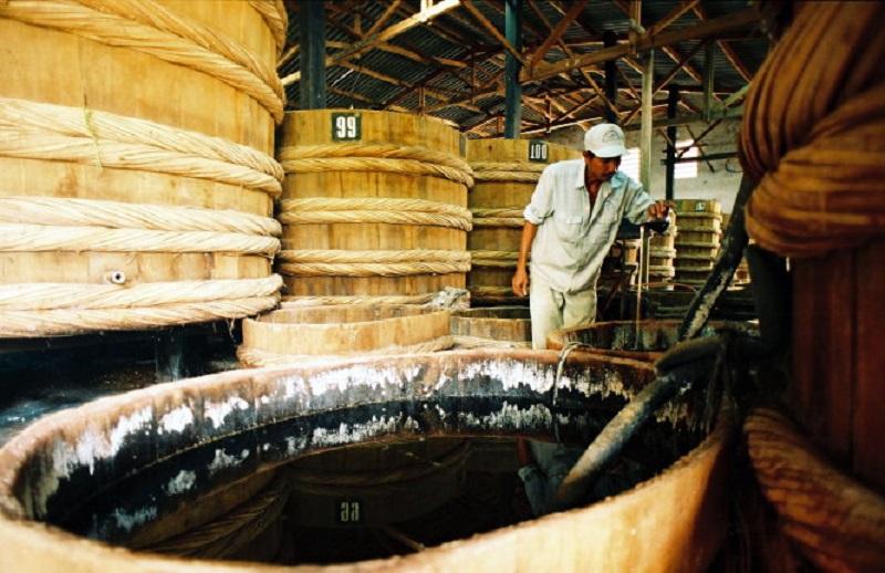 Nhà thùng nước mắm tại Phan Thiết.