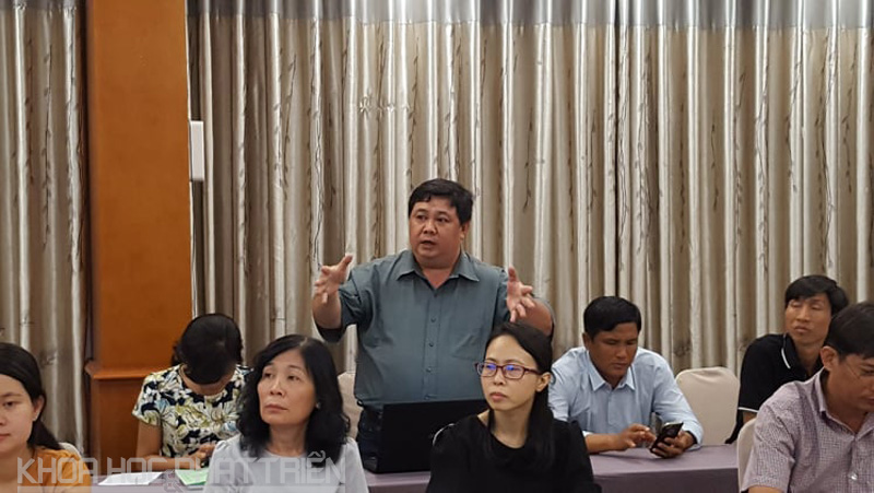 Đại biểu góp ý cho Dự thảo Nghị định