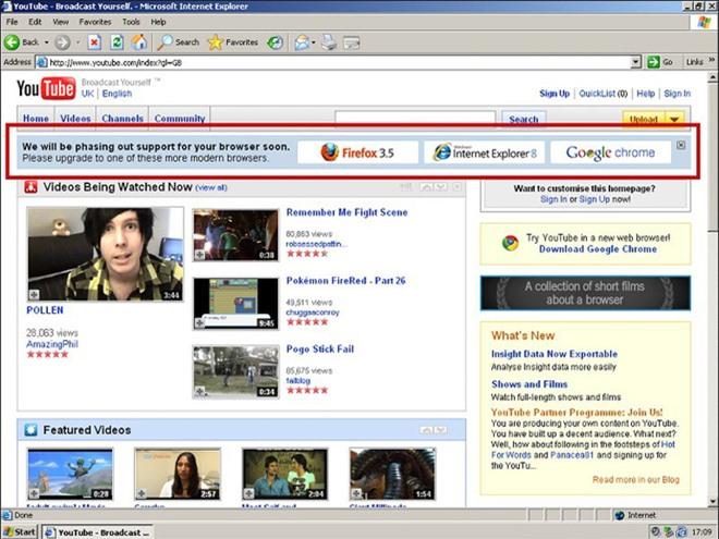YouTube đã sát hại Internet Explorer 6 như thế nào - Ảnh 2.