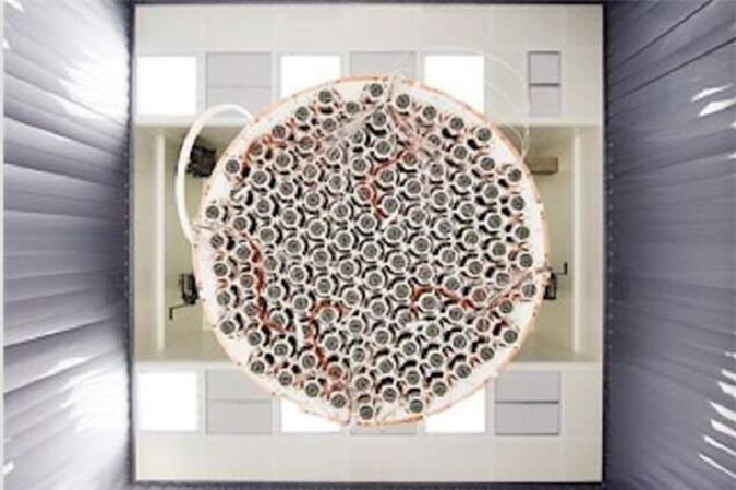Máy dò vật chất tốiXENON1T. Nguồn:phys.org