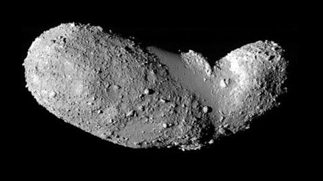 Tiểu hành tinh 25143 Itokawa. Ảnh: Space