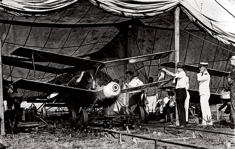 Kettering Bug, máy bay không người lái đầu tiên trên thế giới. Ảnh: Wikimedia.