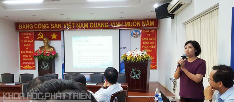Bà Bùi Thanh Bằng giới thiệu về Hệ thống