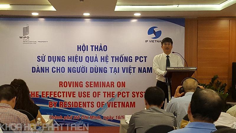 Ông Phan Ngân Sơn - Phó Cục trưởng Cục SHTT