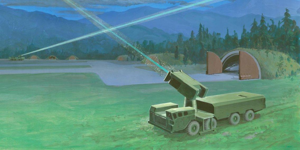 Nhiều cường quốc quân sự: Mỹ, Nga, Trung Quốc, Anh, ... đang chạy đua phát triển các hệ thống vũ khí năng lượng cao như laser. Ảnh: Business Insider.