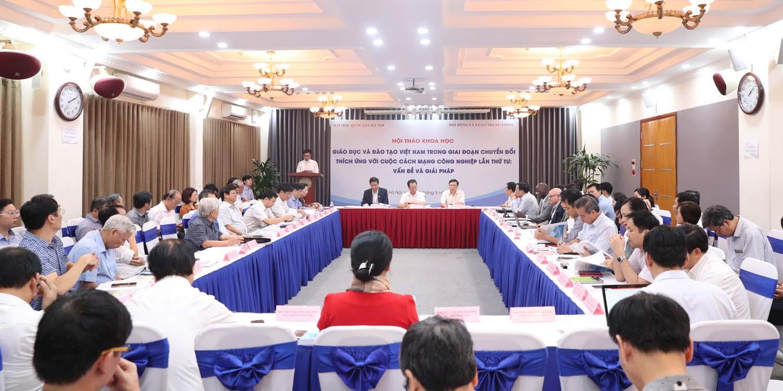 Thảo luận về những thay đổi cần thiết cho Giáo dục và đào tạo Việt Nam trong bối cảnh mới