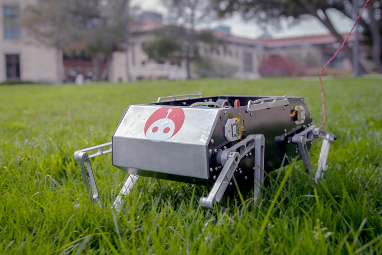 Robot chó của một nhóm sinh viên Stanford. Ảnh: Extreme Mobility.