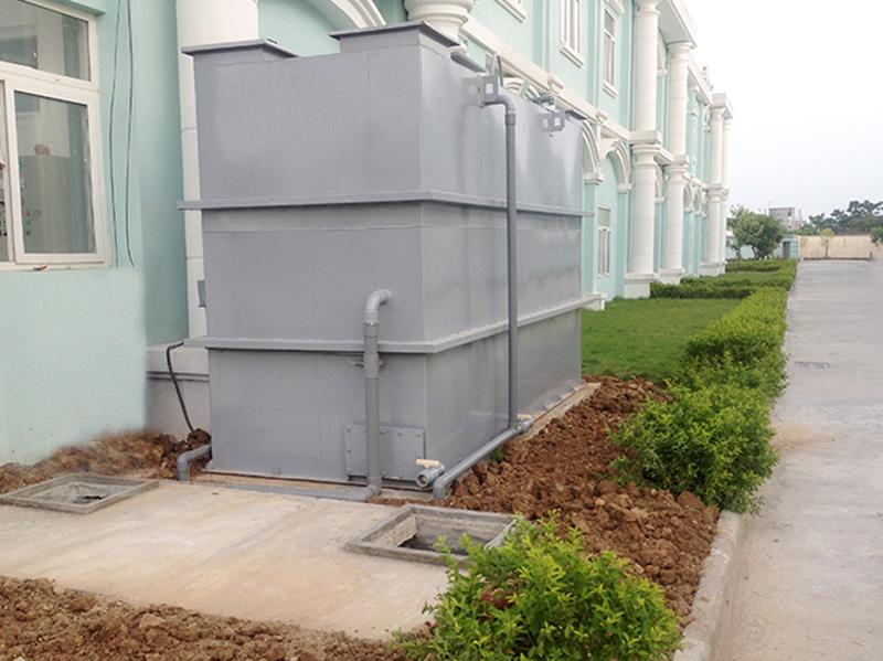 Công trình xử lý nước thải tại Công ty TNHH Fabi Secret Hà Nam