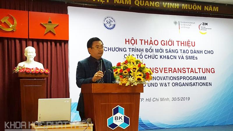 Ông Phạm Xuân Đà - Cục trưởng Cục Công tác phía Nam Bộ KH&CN