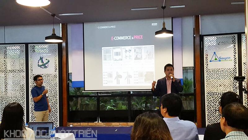 Startup Hàn Quốc trình bày dự án của mình tại SIHUB