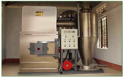 Hệ thiết bị Lò đốt chất thải rắn VHI-18B