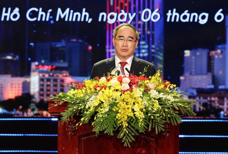 Bí thư Thành ủy TPHCM Nguyễn Thiện Nhân