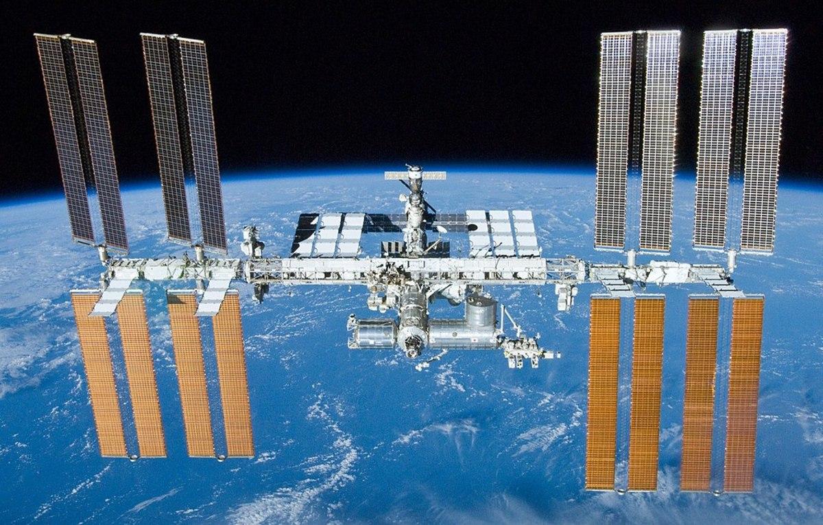 Trạm Vũ Trụ Quốc tế (ISS). Ảnh: NASA