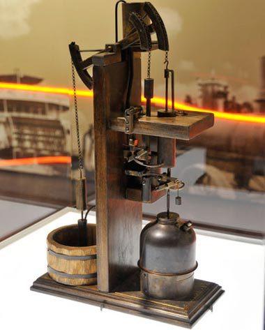 Mô hình cỗ máy hơi nước Newcomen. Ảnh: Inventors