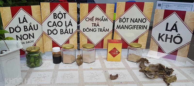 Các thành phần thảo dược tạo nên trà Đông Trầm