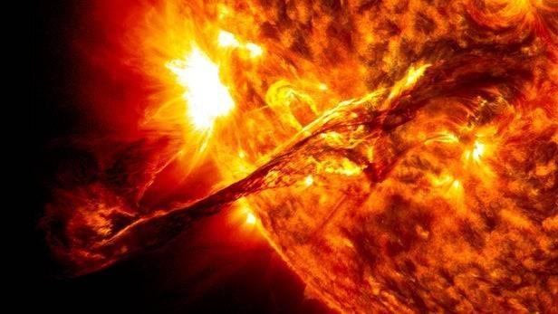Một vụ bùng nổ của Mặt Trời - Ảnh: New Atlas