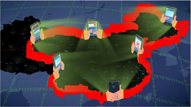 """""""Vạn lý tường lửa"""" của Trung Quốc trên biên giới mạng"""