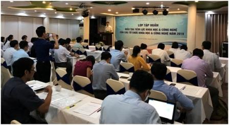 Lớp tập huấn được tổ chức tại Tp. Hồ Chí Minh ngày 12/6/2019 | Ảnh: MOST