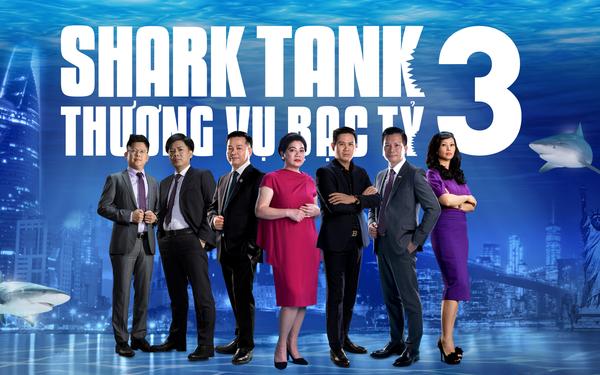 Các nhà đầu tư tham gia Shark Tank mùa 3. Ảnh: BTC