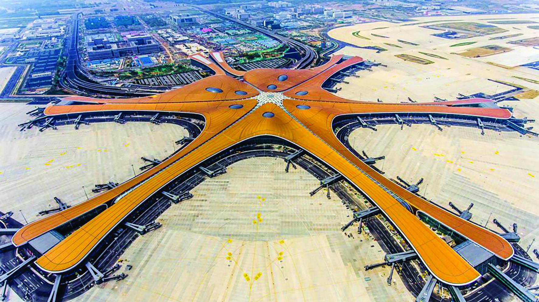 Sân bay quốc tế Đại Hưng. Ảnh: AFP.