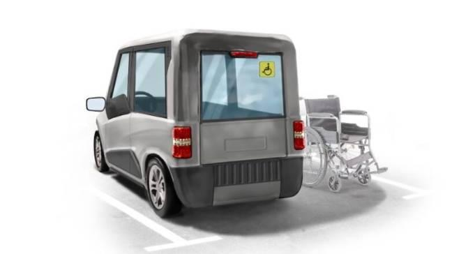 Xe hơi thông minh neuromobile dành cho người khuyết tật sẽ được bán rộng rãi ở Nga vào năm 2022 - Ảnh: Công ty Zetta