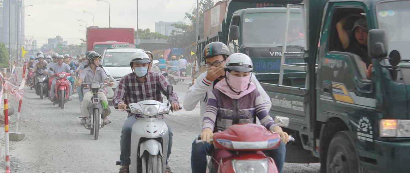 Ô nhiễm không khí là một cuộc khủng hoảng toàn cầu về sức khoẻ