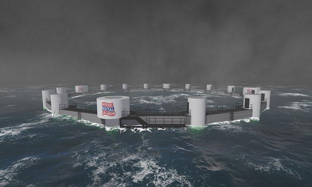 Nauy là nước đi đầu thế giới về công nghệ nuôi trồng thủy sản ngoài khơi trên quy mô công nghiệp. Ảnh: Norway Royal Salmon.