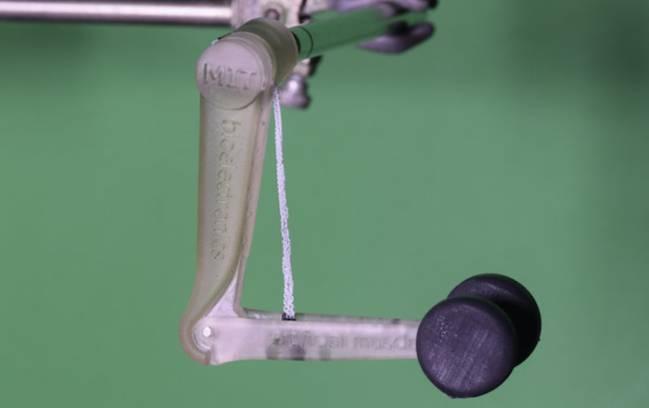 Những sợi polymer với đặc tính là co lại khi bị nung nóng có thể được sử dụng để tạo ra cơ nhân tạo của chân tay giả và cánh tay robot - Ảnh : Viện Công nghệ Massachusetts, Mỹ