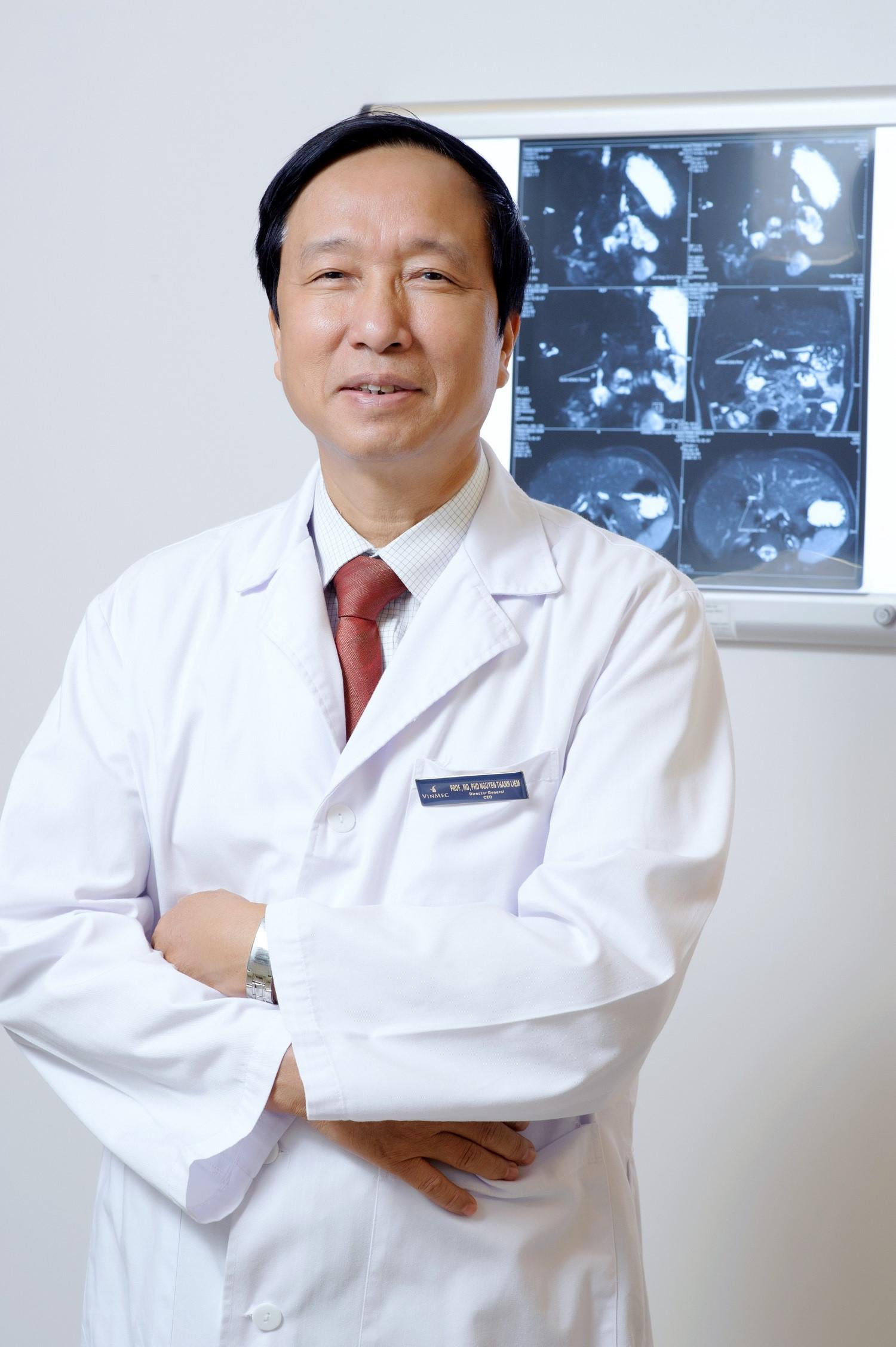 GS.TS Nguyễn Thanh Liêm (1953), nguyên giám đốc Bệnh viện Nhi trung ương, Viện trưởng Viện nghiên cứu Tế bào gốc – Công nghệ gene Vinmec