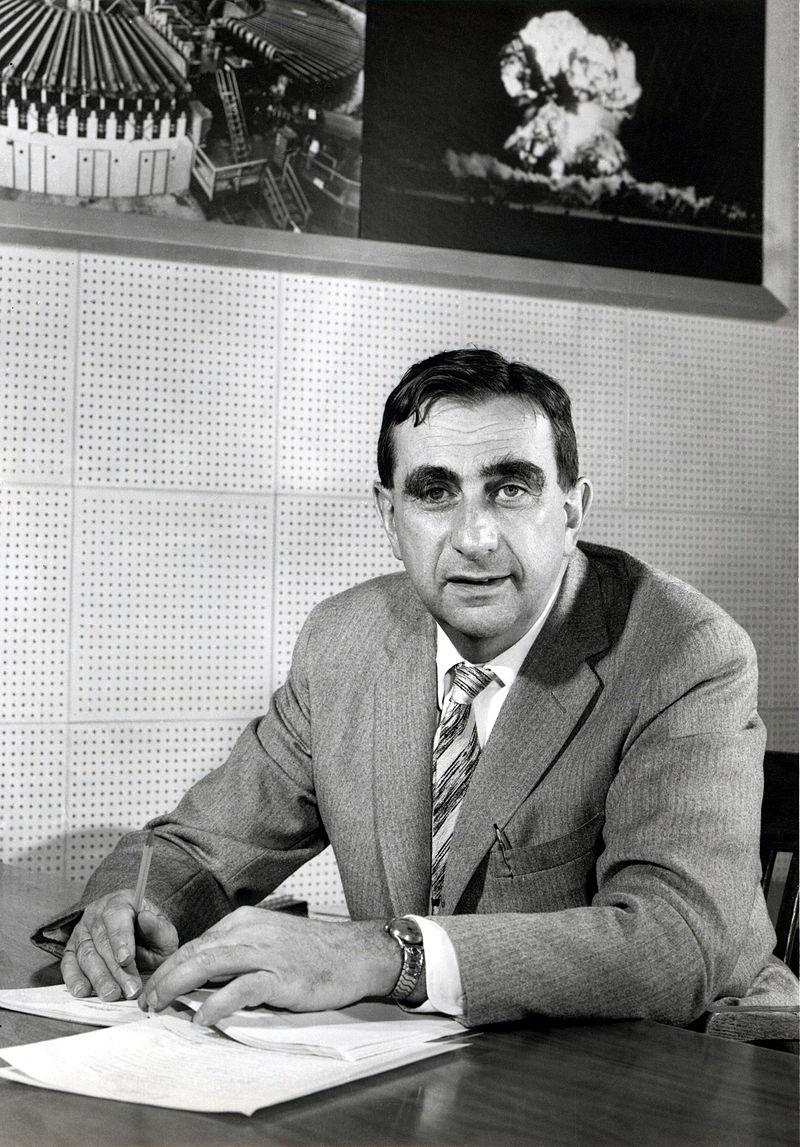 Teller năm 1958 khi đang là Giám đốc Phòng thí nghiệm Quốc gia Lawrence Livermore. Ảnh: Wikipedia.