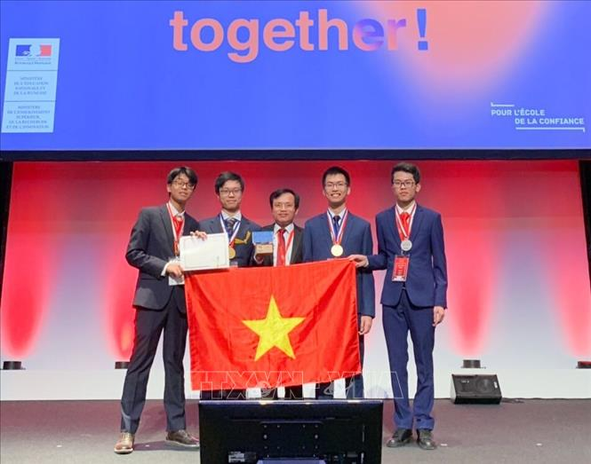 Các thí sinh dự thi Olympic Hóa học quốc tế năm 2019. Ảnh: TTXVN