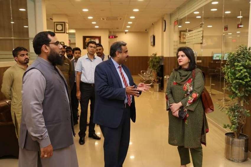 Ban Công nghệ thông tin Punjab (PITB) đi kiểm tra công viên phần mềm Arfa.