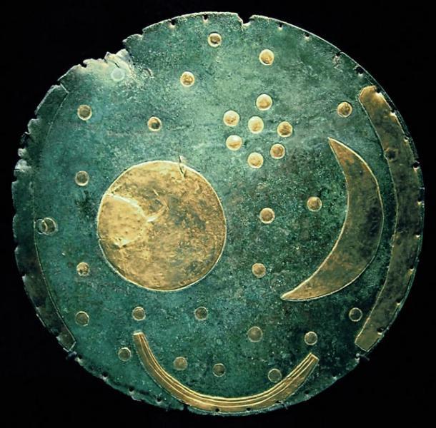 Đĩa Nebra Sky. Ảnh: Wikimedia.