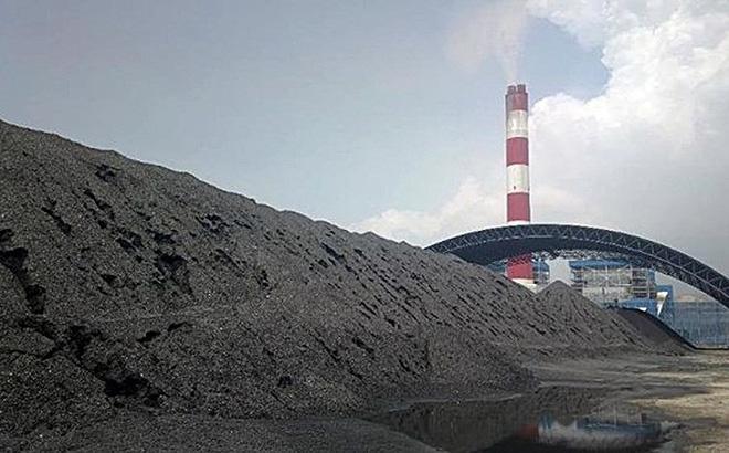 Tro xỉ nhà máy nhiệt điện Vĩnh Tân.