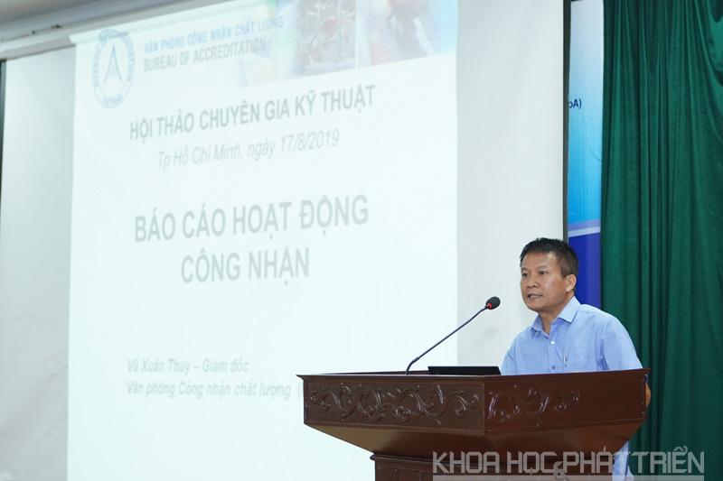 Ông Vũ Xuân Thủy - Giám đốc BoA