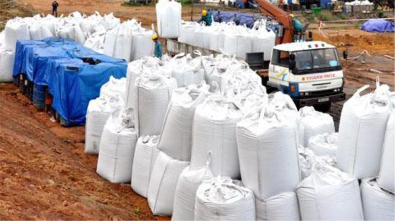 Chất thải xúc tác từ NMLD Dung Quất chủ yếu được chôn lấp