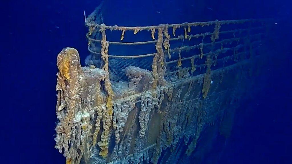 Xác tàu Titanic. Ảnh: Fox News.